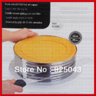 New Stainless Steel Adjustable Cake Mousse Ring Cake Mould Mould Layer Cake Slicing Kit Baking Tool Set 9.5''-12''