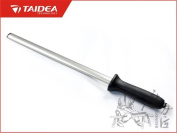 Taidea 25cm Oval Fine Diamond Steel Knife Sharpener Sharpening Rod Kitchen Chief Tool Accessory