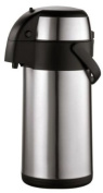 Stainless Steel Pump Thermos jug can flask, 3 Litres