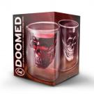 Doomed Crystal Skull Shot Glass