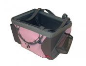 Weeride Pet Carrier Dog Cat Basket for Bicycles in Pink