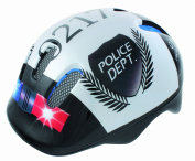 Ventura Kids Police Helmet - White