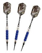 Viper 20-0008-16 Sure Grip Blue Soft Tip Darts - 16 Gramme