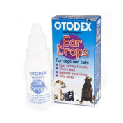 Otodex Ear Drops - Fast acting formula clears wax, relieves scratching and kills mites