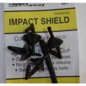 Breakaway Impact Sheilds Black