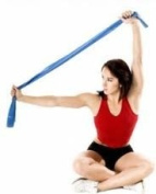 EXERCISE BAND - Blue (Heavy) - 120CM X 15CM