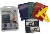 Fitness Mad Resistance Band Kit 3 Strengths of Band and handles