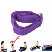 1 PCS Random Colour 170cm exercise Yoga Stretching Strap Cotton Belt Pilates Fitness Prop