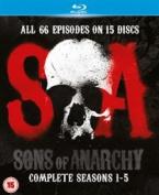 Sons of Anarchy [Region A] [Blu-ray]