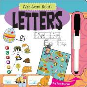 Letters (Wipe Clean Books) [Board book]