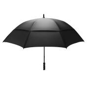 GustBuster Pro Golf Black 160cm Umbrella