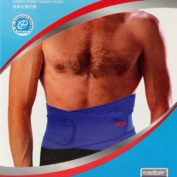 FordEx Group Elastic Waist Support Pain Back Brace Body Band Blue New