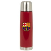 Official FC Barcelona Aluminium Thermos Flask - A great gift / present for men, boys, sons, husbands, dads, boyfriends for Christmas, Birthdays, Fathers Day, Valentines Day, Anniversaries or just as a treat for and avid football fan