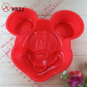 Mickey Modelling Cake Mould  The Food Safety Certification Baking Cake Mould Silicone Cake Mould No.si101