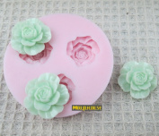 3d Flower Silicone Mould Soap,fondant Candle Moulds,sugar Craft Tools, Chocolate Moulds ,silicone Moulds For Cakes,form For Soap