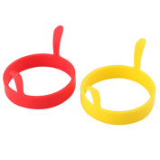 Silicone Egg Ring 2pcs  - 7.5cm