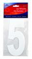 2 Pack Wheelie Bin Numbers - 5