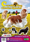 Dogs Self Adhesive Sticker Kit - Cavalier King Charles Spaniel