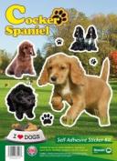 Dogs Self Adhesive Sticker Kit - Cocker Spaniel