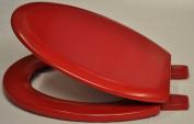 Bemis Red Coloured Toilet Seat