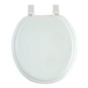 Anika Toilet Seat with Plastic Hinges, White