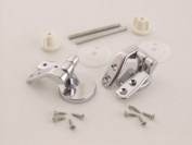 Vemco 9Unhcp Wood Toilet Seat Hinges Chrome