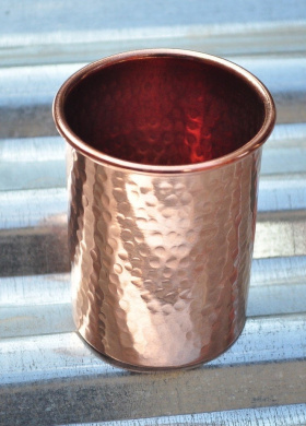Ayurveda Copper Tumbler /  Drinking Cup