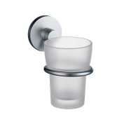 Studio Holder with Frosted Glass Tumbler Finish