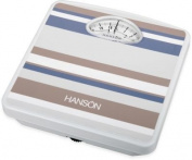 Hanson H98 Mechanical Bathroom Scale Stripes