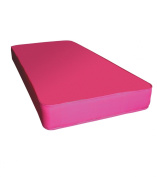 Kidsaw Colour Single Sprung Mattress, Pink