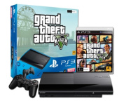 PlayStation 3 500GB Console with Grand Theft Auto 5