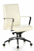 buerostuhl24 600310 barolo 10 executive office chair ivory aspera 10 executive office nappa leather brown