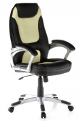buerostuhl24 621350 racer executive office chair 100 pu leather blackbeige aspera 10 executive office nappa leather brown
