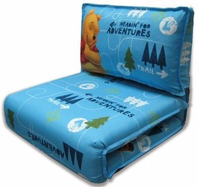 Disney Winnie The Pooh Flip Out Sofa With Sleeping Bag By