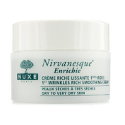 Nirvanesque 1st Wrinkles Rich Smoothing Cream (For Dry to Very Dry Skin), 50ml/1.5oz