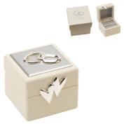 Beautiful Amore Double Wedding Ring Box