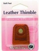 Hemline Leather Thimble for Sewing - Multi-Use