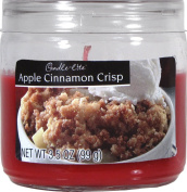 Apple Cinnamon Crisp Jar Candle 100g