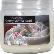Creamy Vanilla Swirl Jar Candle 100g