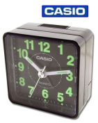 Casio TQ140-1 Travel Quartz Beep Alarm Clock