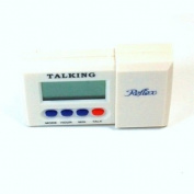 Reflex Travel Talking Alarm Clock
