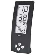 Upright Black Alarm Clock