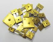 10 units Brass Blocked Assorted Clock Pendulum Suspension Springs