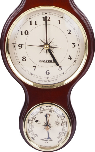 Traditional Banjo Weather Station Barometer Thermometer