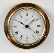 Barigo Tempo Clock brass