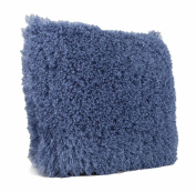 Malini Marley Faux Mongolian Cushion Blue