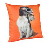 Captain Britain Dog Cushion Tangerine