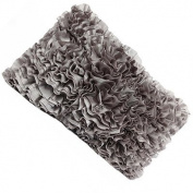 Malini Allegra Filled Cushion, Slate, 30 x 50 Cm