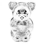 Silver Plated Teddy Bear Money Box