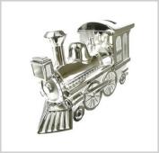 Silver Plated Train Money Box